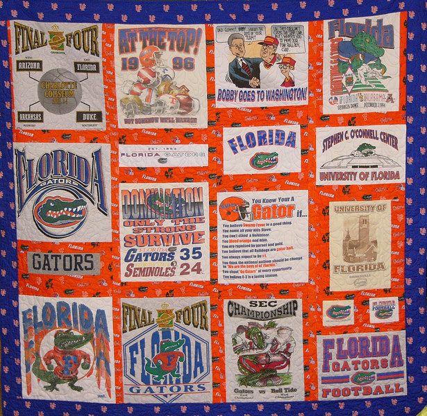 T-shirt Quilt with Ruth Biehl Class available