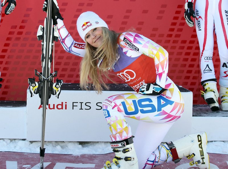 ". <p><b> World Cup champion Lindsey Vonn, who�s still focused entirely on the 2014 Olympics, says she�s waiting until after the Sochi Games before doing this � </b> <p> A. Having knee surgery <p> B. Discussing retirement <p> C. Dumping Tiger Woods <p><b><a href=\'http://www.twincities.com/sports/ci_24633174/lindsey-vonn-needs-knee-surgery-hopes-wait-until\' target=""_blank\"">HUH?</a></b> <p>     (AP Photo/Alessandro Trovati, File)"