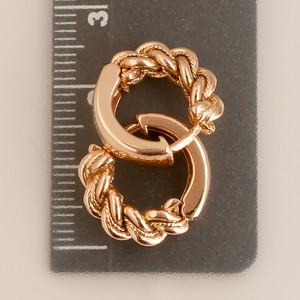 Namejs  two sided earrings  (GOLD)