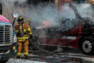Tractor Trailer Fire - 465 Old Gate Ln, Milford, CT - 12/17/20