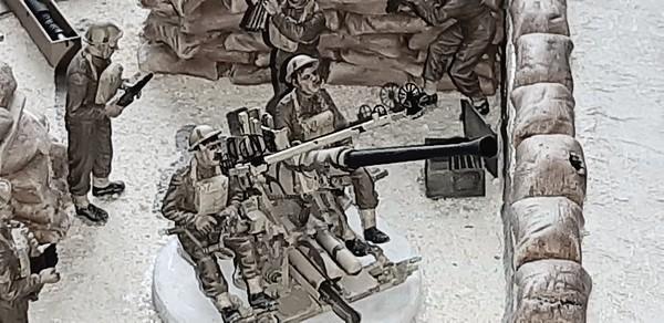 Royal Malta Artillery - Bofors 40mm AA Gun