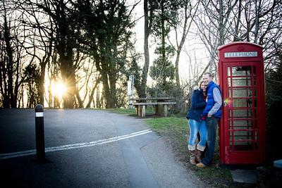 Charlotte & Nigel - Pre Shoot in the Malverns