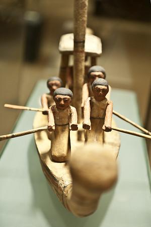 Galerie égyptienne du musée de Tessé