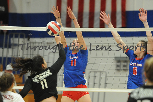 Lebanon vs. Crescent Valley HS Volleyball