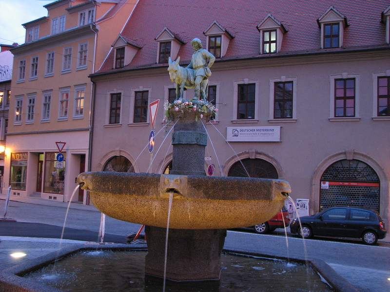 Fountain in Halle