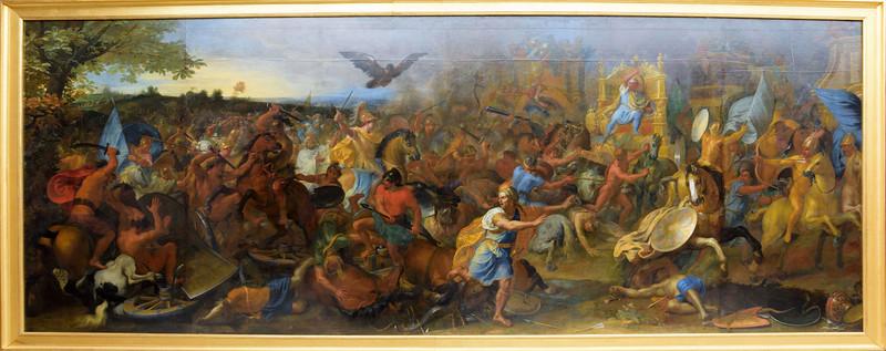 Charles Le Brun, La Bataille d'Arbèles  1669