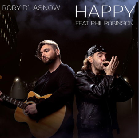 "RORY D'LASNOW EXPLORES MISSED CONNECTIONS IN NEW SINGLE ""HAPPY"""