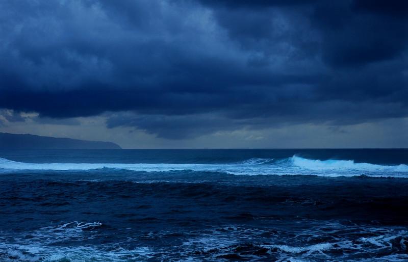 Stormy Sunset   North Shore of O'ahu, Hawai'i