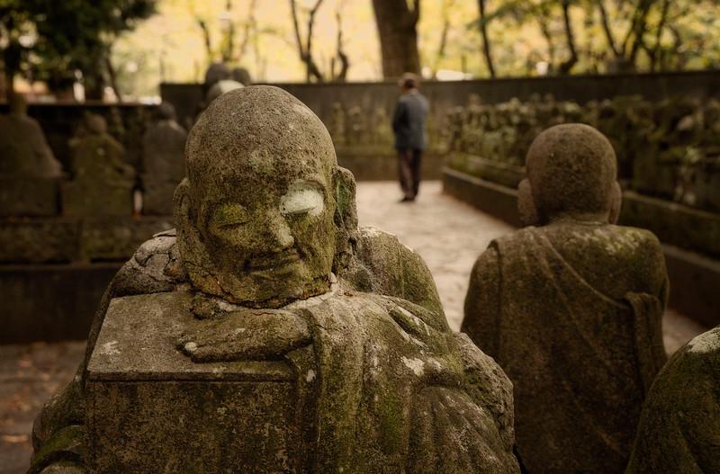 Gohyaku Rakan Statues, Kawagoe