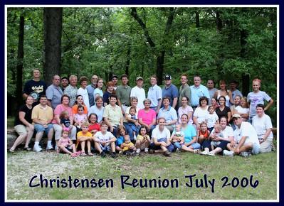 Christensen Reunion MO July 2006