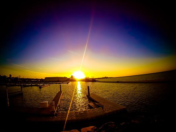 Whiskey Island Sunset Two