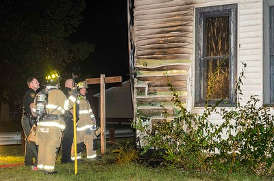 09-27-15 Coshocton FD House Fire