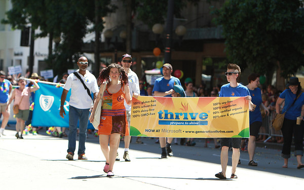 Seattle Pride Parade 2013