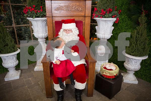 Sat Dec.3, 2016 Rogers Garden Santa