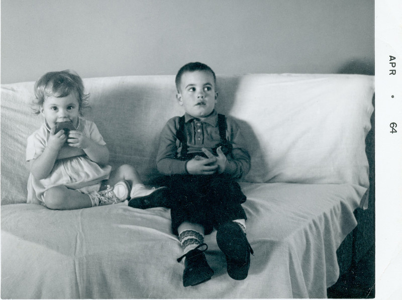 Mark and LuAnne(?) Spring 1964