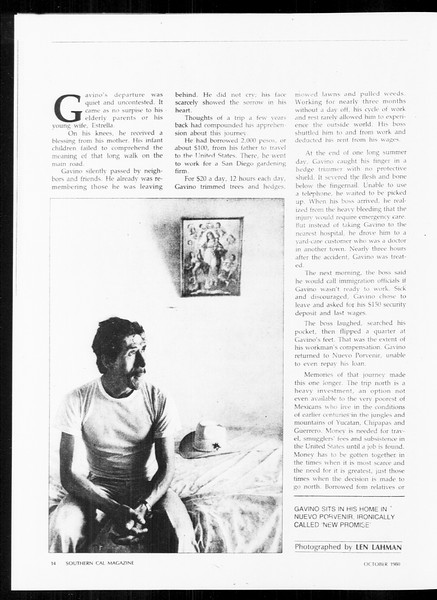 Daily Trojan, Vol. 89, No. 16, October 06, 1980