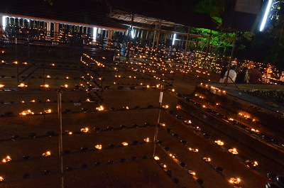 Lighting One Lakh Diya - Oil Lamps