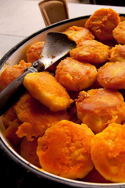potato tortillas  llapingachos typical ecuadorian food
