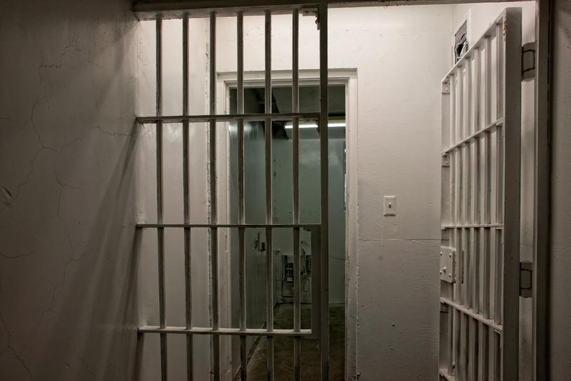 Transbay Terminal Jail Cell