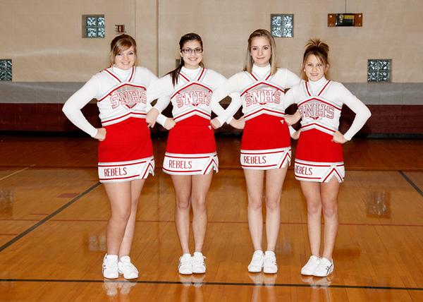 SN HS Cheerleading Team 12-13