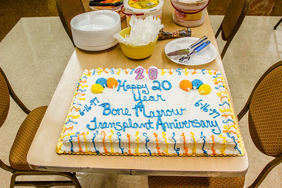 Doyle Wallace's 20th Bone Marrow Transplant Anniversary