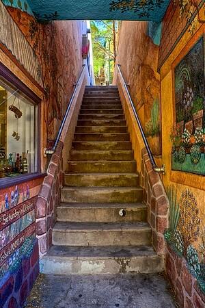 Bisbee Staircase, Bisbee, AZ