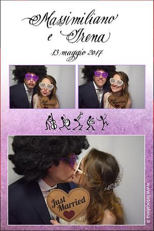 Photobooth con Fotocabina Massimiliano e Irena - Photo booth con cabina fotografica matrimonio