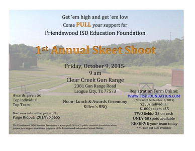 FEF 1st Annual Skeet Shoot