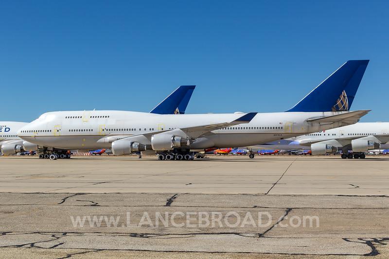 United 747-400 - N175UA - VCV