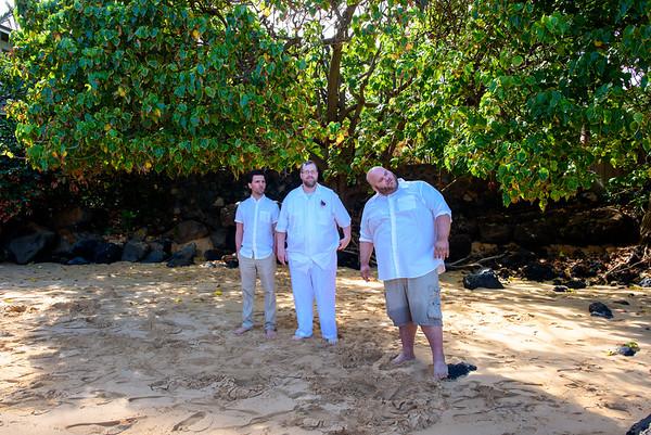 UNEDITED, Shuh Wedding, July 6, 2016, Makena Cove Maui