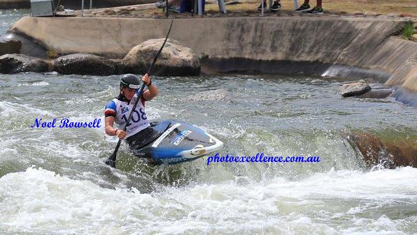2018 Canoe Slalom, Penrith, Australia