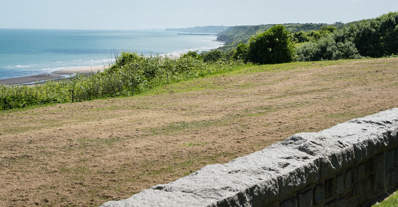 Omaha Beach, looking east