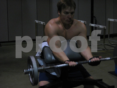 Some of my work out shots May 2009