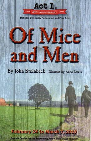 Of Mice and Men (Feb. - Mar. 2010