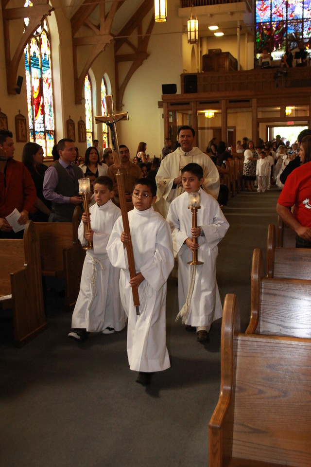 2012 ST. MARYS CHURCH F- DEKALB - FIRST COMMUNION - THE MASS
