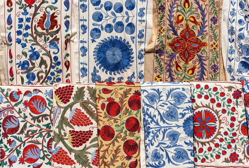 Colourful Fabrics, Khiva