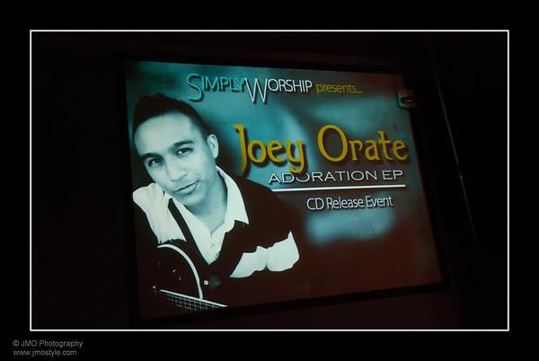 Joey's CD Release