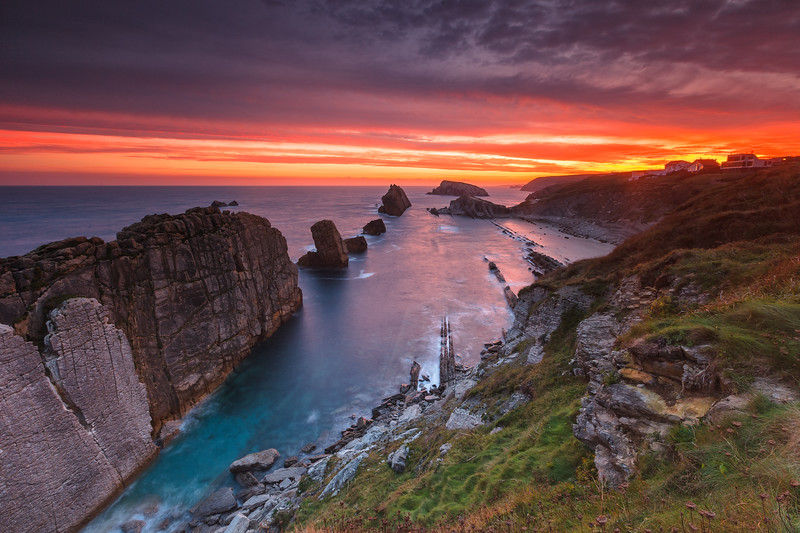 Costa Quebrada, Cantabria, Spain.