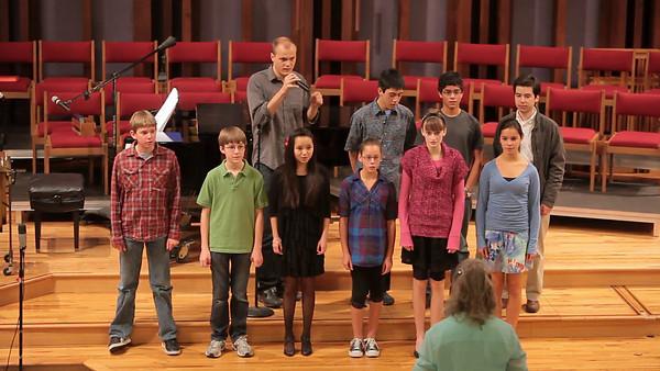 Mountain View UMC 02-13-2011 Spirit Singers Benefit Concert Videos