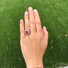 3.27ctw Burma No-heat Ruby Cluster Ring, GIA cert 15