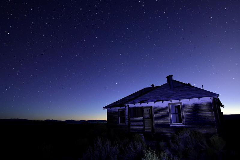 Old House near Mono Lake
