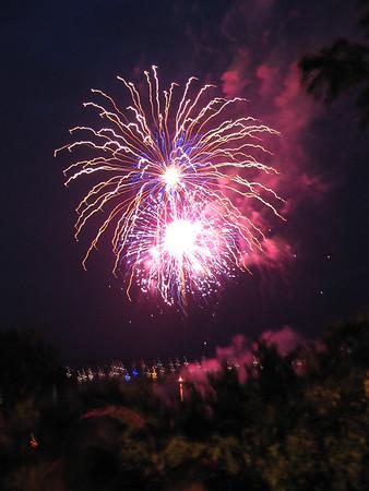 Burlington Fireworks 2006