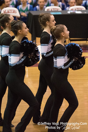 2/3/2018 Walt Whitman HS at MCPS County Poms Championship Blair HS Division 2, Photos by Jeffrey Vogt Photography with Kyle Hall