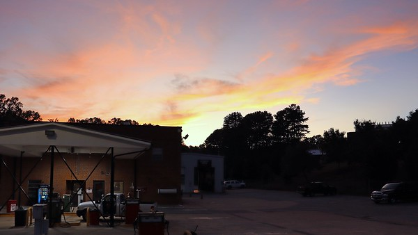 September 25:  Another great evening sky .  .  .