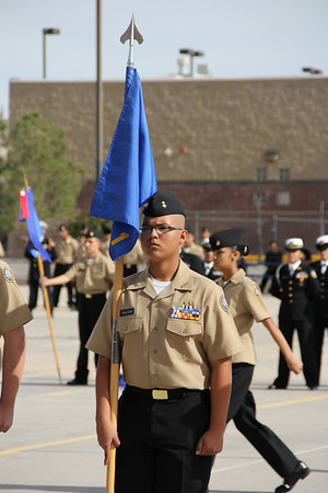 Americas & Eastlake NJROTC Inspection and Review
