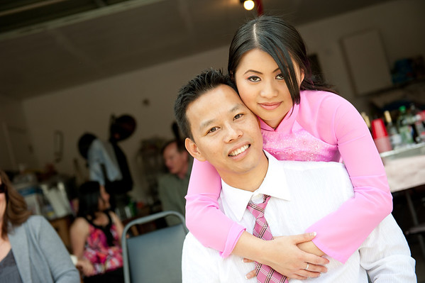 Oanh & Raymond's Engagement Ceremony