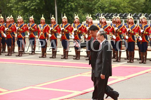 БНХАУ-ын Дэд дарга Ван Чишань айлчилж байна