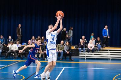 RCS Boys Basketball Freshmen 2020