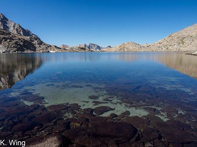 Mount Goethe via Lamarck Col and Darwin Canyon  08/04/2020- 08/06/2020