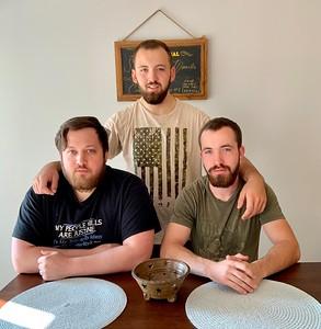 Levi, Jacob and Sam